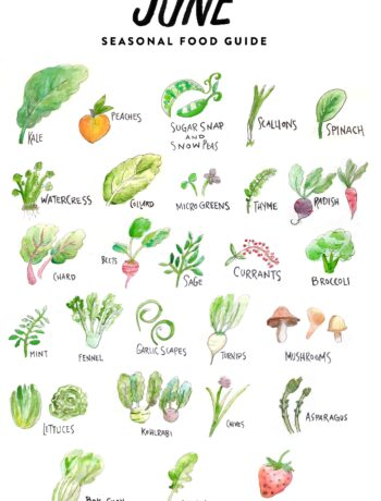 Fruits and Vegetables in June