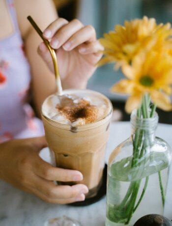 Healthy Iced Coffee Recipe with no added sugar